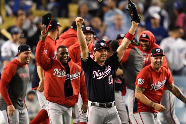 Nationals ride unique blend of experience, youth to World Series