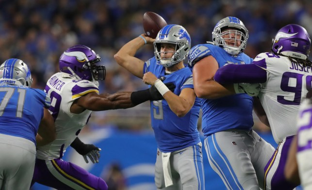 Detroit Lions unable to slow down Kirk Cousins, Minnesota Vikings in 42-30 loss