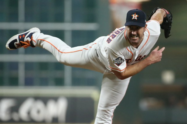 Astros' Justin Verlander sets postseason record for strikeouts in Game 2 of World Series