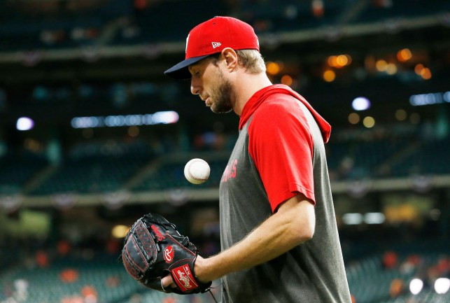 'This is what you live for': Max Scherzer, 'rising from the dead,' ready to lead Nationals into Game 7