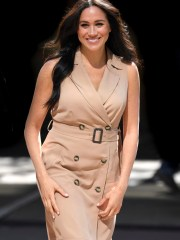 Duchess Meghan, shown here during a trip to Johannesburg in October, was an exceptional royal in 2019.