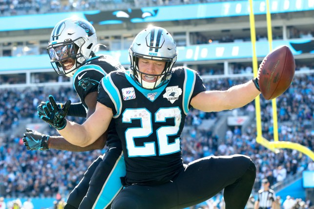 Christian McCaffrey, Panthers run past Titans for win