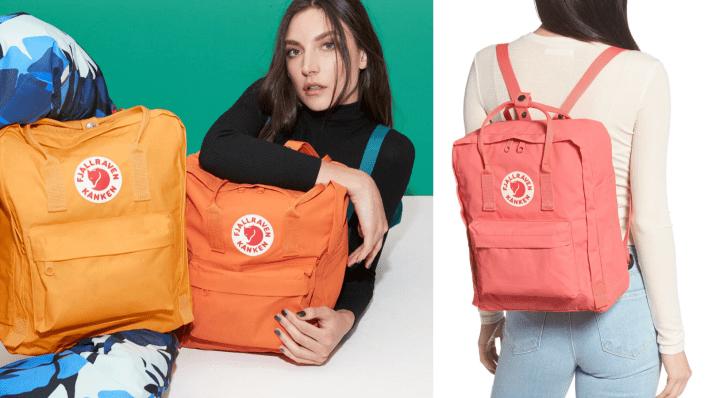 Best gifts for women: Fjallraven Kanken Backpack