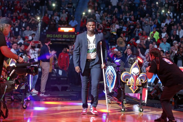 Zion Williamson urges Pelicans fans to stay positive, has no timetable for return