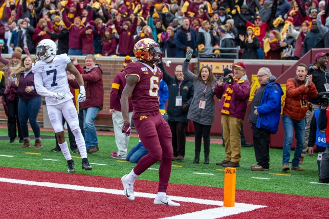 No. 13 Minnesota stays unbeaten by taking down No. 5 Penn State