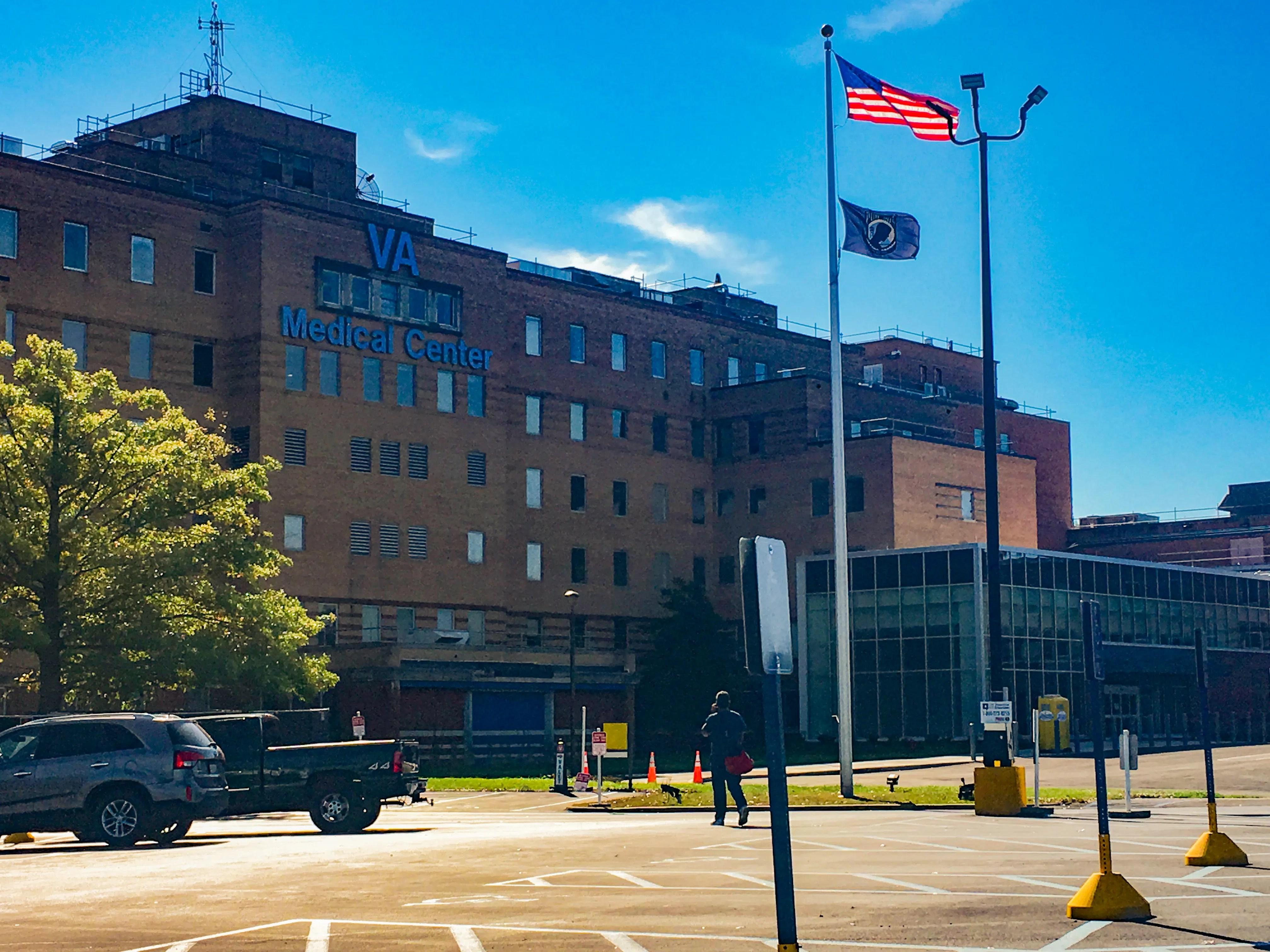 The Louis A. Johnson VA Medical Center in Clarksburg, West Virginia, serves 70,000 veterans.