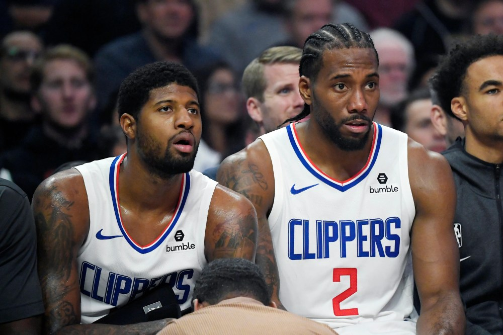 Clippers can be patient with Paul George-Kawhi Leonard growing pains