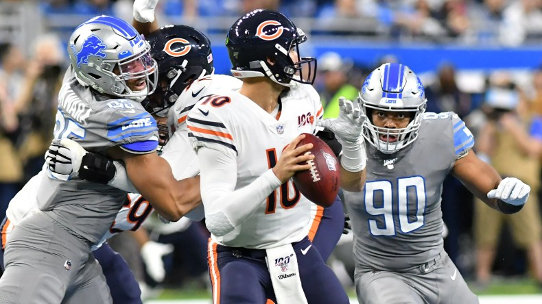 Four Downs: Lions' awful game plan turns Bears' Trubisky into an ...