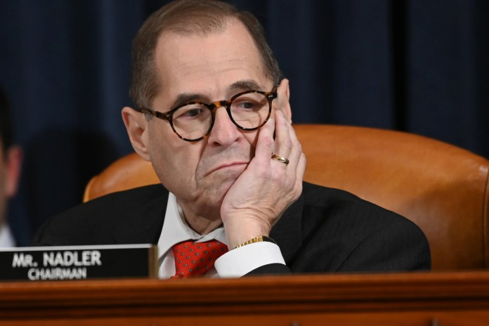 """House Judiciary Committee Chairman Jerry Nadler of New York has said there is a """"mountain of evidence"""" to support the Democrats' case."""