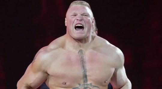 WWE champ Brock Lesnar