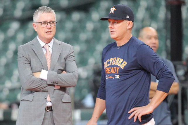 Former Astros manager A.J. Hinch, GM Jeff Luhnow will fulfill suspensions in 2020 even if MLB season canceled