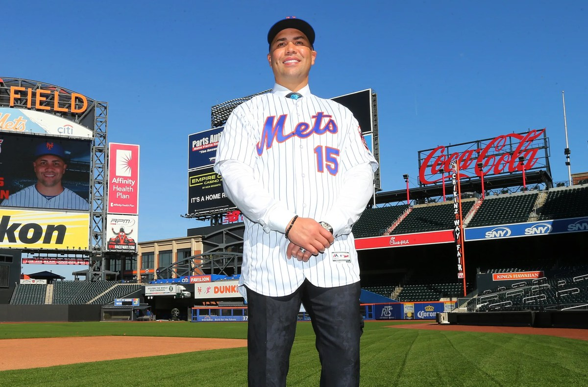 Beltran was introduced as the new Mets manager on November 4.