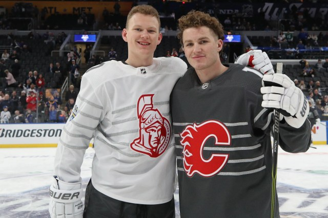 bd46786d-365a-4d8d-8f24-1edffd3d28a3-asg_tkachuks Winners, losers at NHL All-Star weekend: Tkachuk brothers, Green Day expletives, Kane cheered