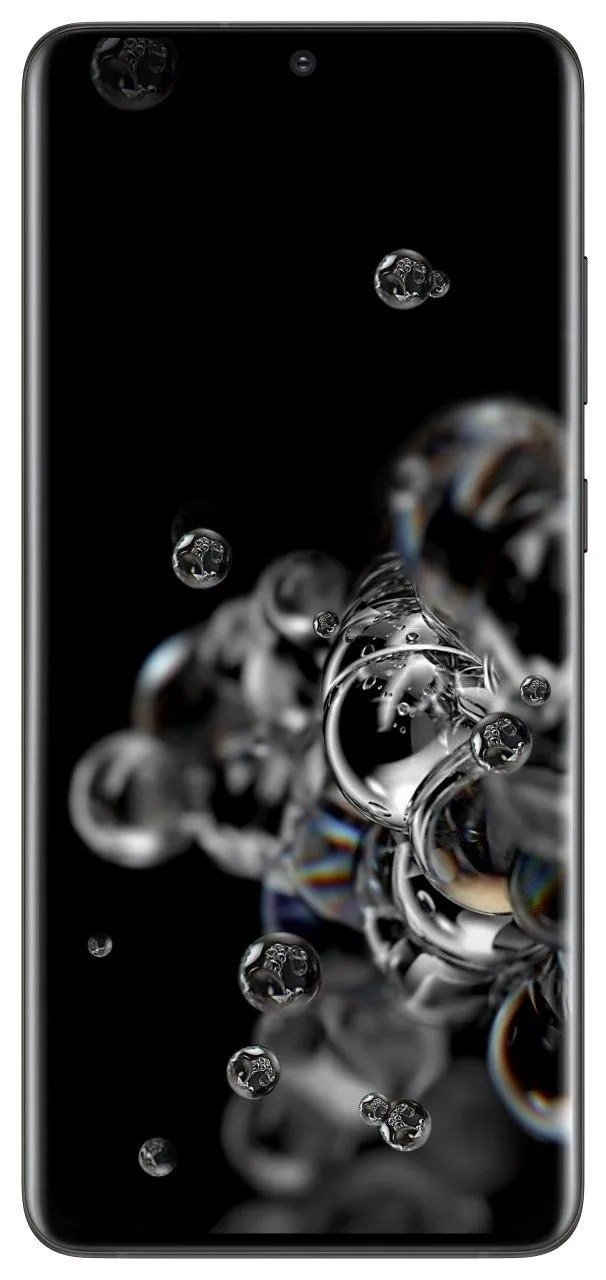 The wallpaper on cosmic black Samsun Galaxy S20 Ultra.
