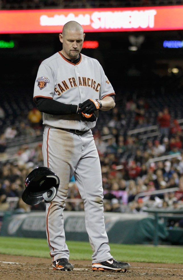 Opinion: San Francisco Giants right to exclude Aubrey Huff from 2010 World Series celebration
