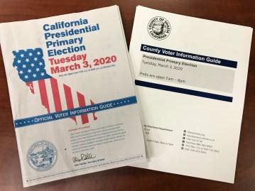 Risultato immagini per primary california 2020
