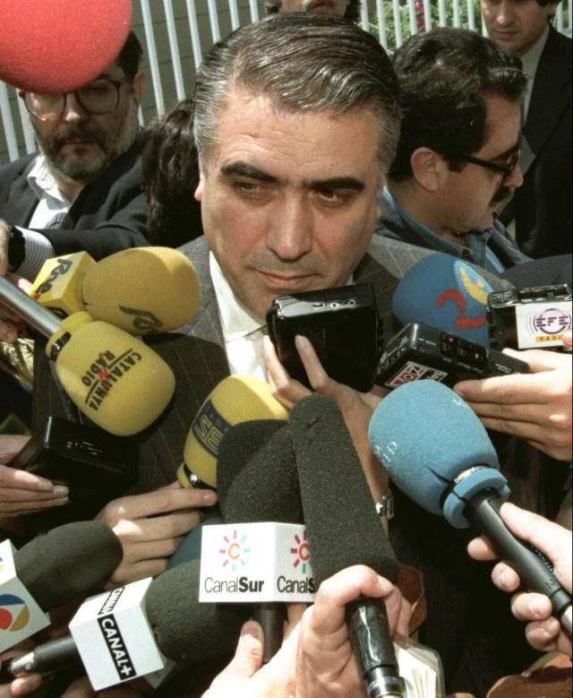 Lorenzo Sanz, former Real Madrid president. He died on March 21.