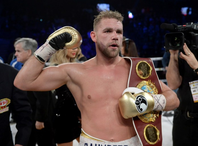 British boxing champ Billy Joe Saunders suspended for video comments