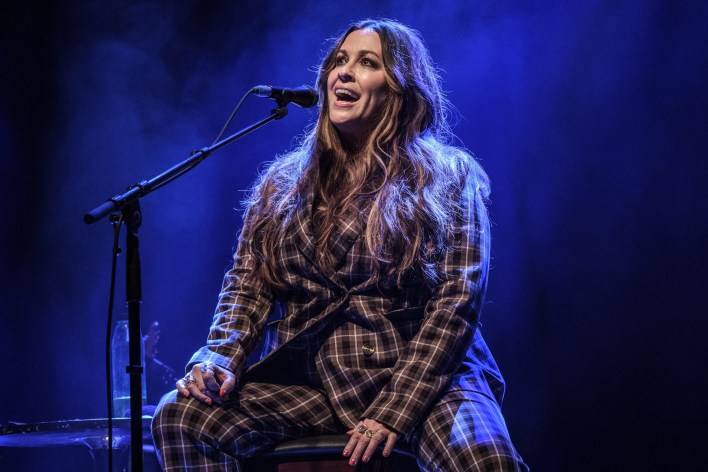 Alanis Morissette performs at O2 Shepherd's Bush Empire on March 04, 2020 in London, England.