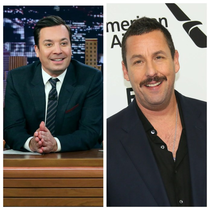 Adam Sandler and Jimmy Fallon teamed up to cheer up through the song in the midst of the coronavirus pandemic.