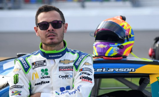 Kyle Larson was suspended by NASCAR for using a racial slur.