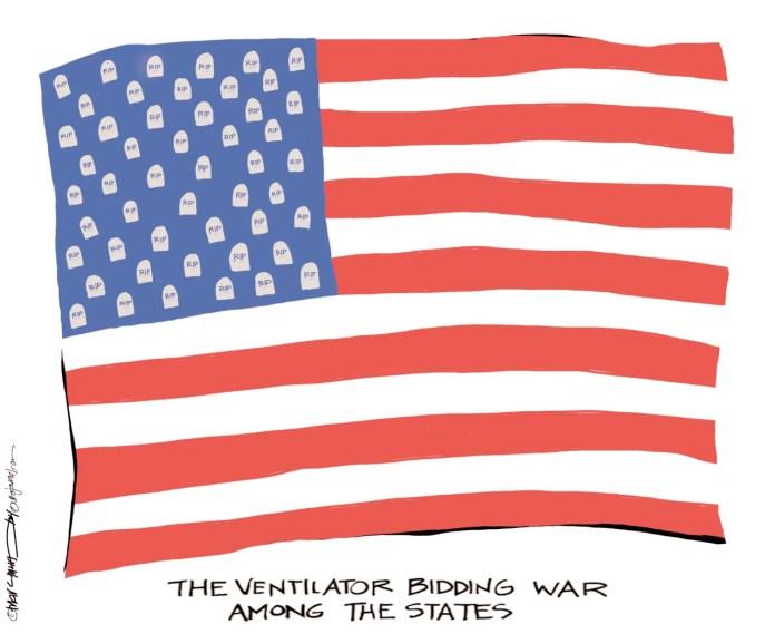 Marc Murphy editorial cartoon