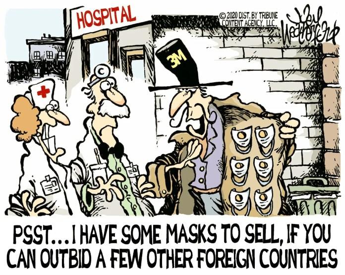 Joey Weatherford editorial cartoon