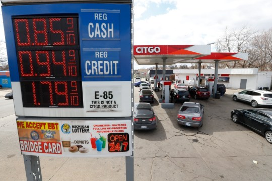 Gas prices are falling because commuters, vacationers and day trippers are doing none of this because of the coronavirus.