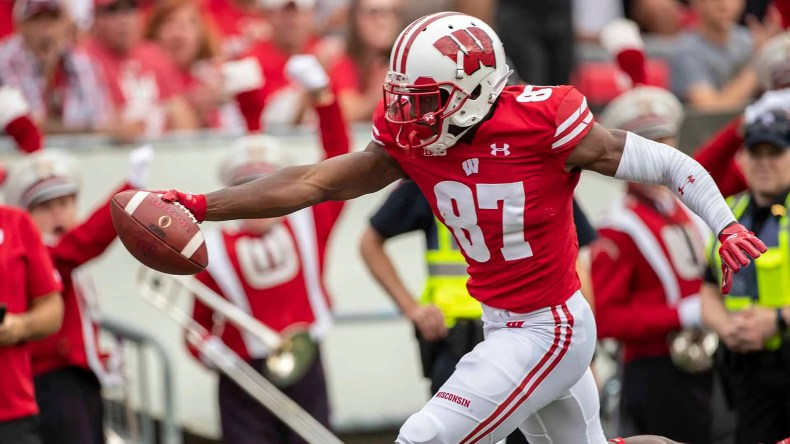 Wisconsin's Quintez Cephus says Lions got themselves a 'complete ...