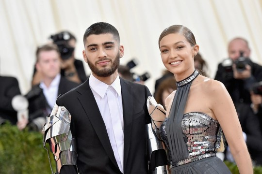 Zayn Malik and Gigi Hadid attended the Met Gala on May 2, 2016 in New York City.
