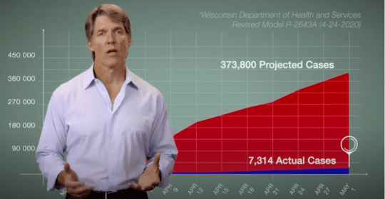 Former U.S. Senate candidate and Madison businessman Eric Hovde appears in a 60-second television ad.