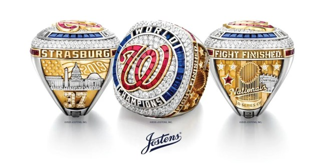 Washington Nationals unveil 2019 World Series rings, which feature 170 diamonds, Baby Shark