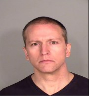 Booking photo for Derek Michael Chauvin, 44. Chauvin is a former Minneapolis Police Department officer who was arrested in connection with the death of George Floyd.