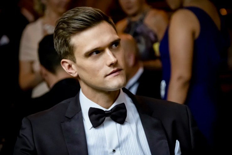 """Hartley Sawyer formerly played the role of Ralph Dibny, also known as The Elongated Man on The CW's """"The Flash."""""""