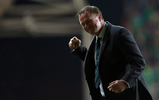 Michael O'Neill, manager of the English soccer club Stoke