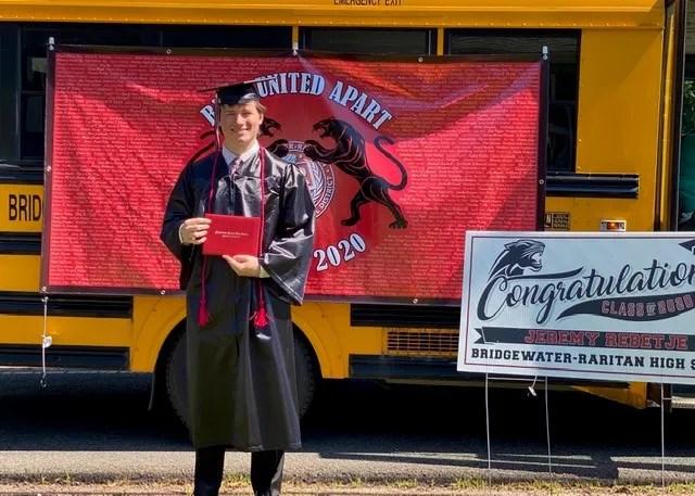 Jeremy Rebetje, Bridgewater Raritan High School