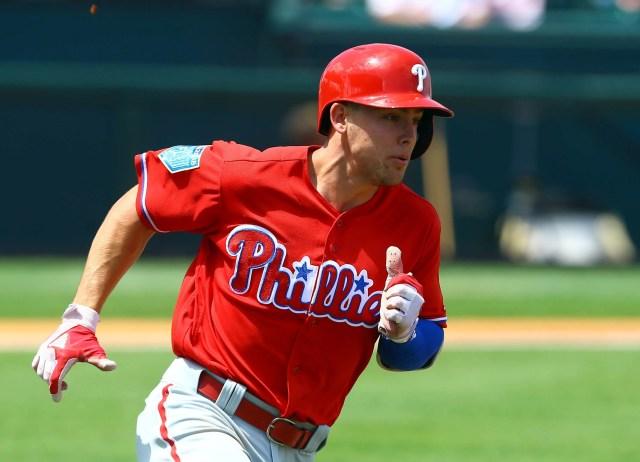 Philadelphia Phillies infielder Scott Kingery