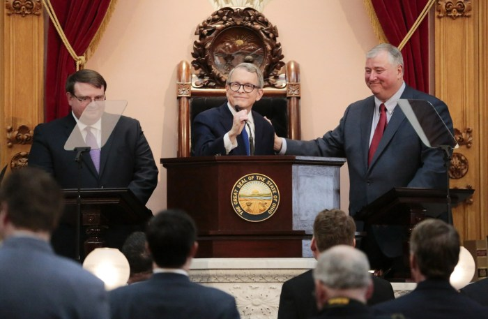 Partners for Progress, which received $20 million from FirstEnergy Corp. and related businesses in 2019, gave some of that money to dark money groups that supported the campaigns of Gov. Mike DeWine and his daughter Alice DeWine.