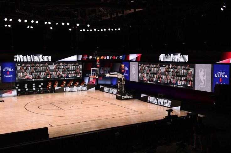NBA virtual fans: creative way to generate enthusiasm inside bubble
