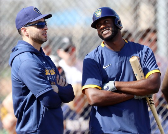 Lorenzo Cain played the first five games of the season with the Brewers before opting out.