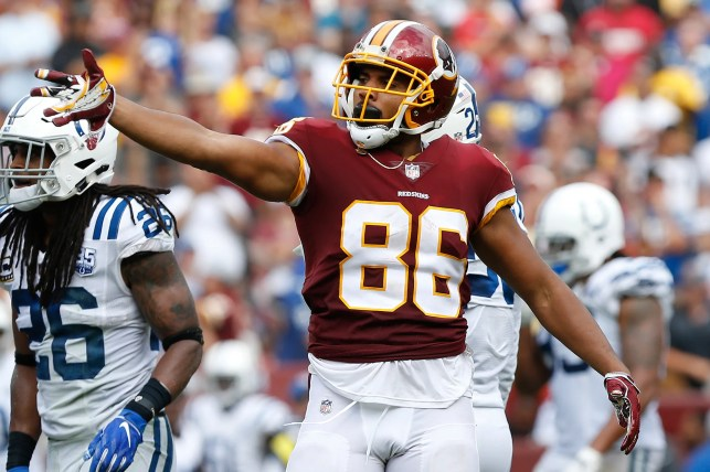 Former Pro Bowl tight end Jordan Reed signs with San Francisco 49ers