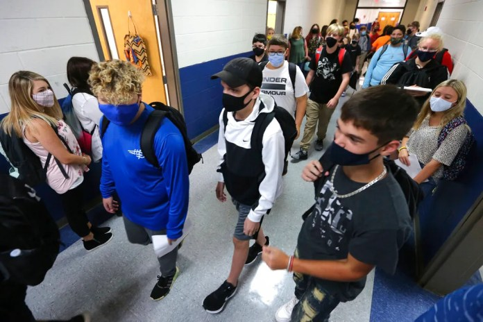 More than 9,000 students and almost 800 teachers were quarantined for coronavirus exposure in Mississippi the week of Nov. 9, according to the state Department of Health.
