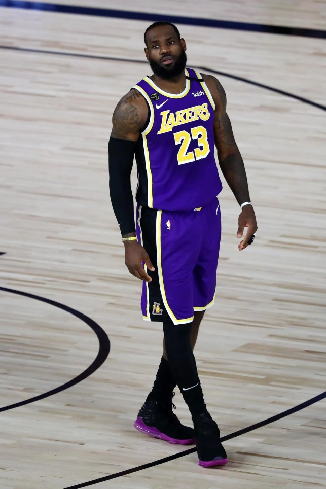 Lakers star LeBron James still struggling to adjust to playing without fans