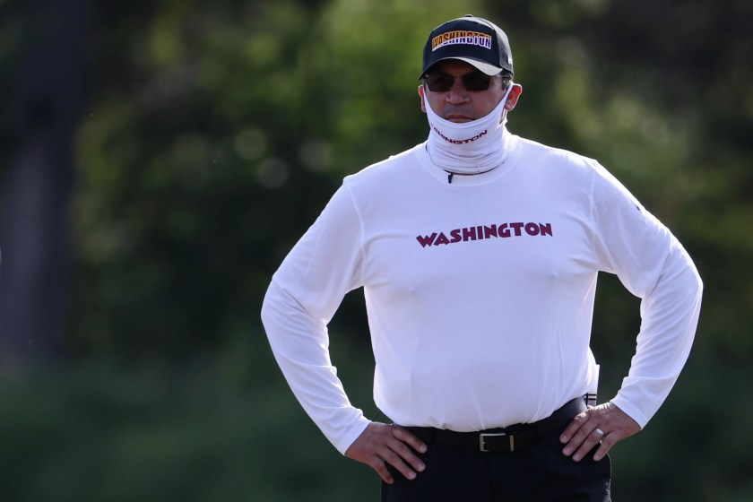 Ron Rivera, Washington Football Team coach, reveals he has cancer