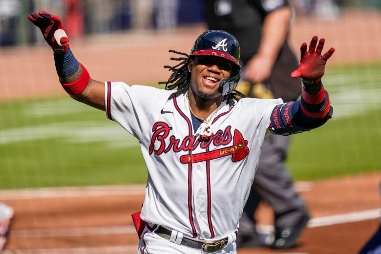 Ronald Acuña Jr.: Atlanta star ties Braves record for leadoff homers
