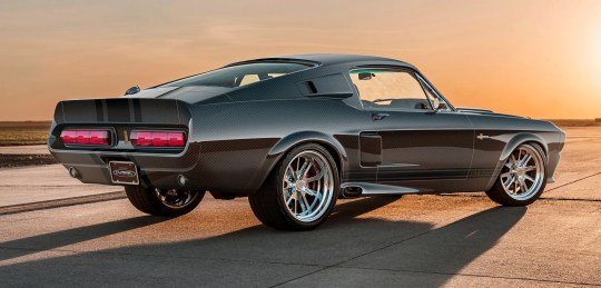 Classic Recreations has moved the 1967 Shelby GT500CR from a carbon fiber concept car into production reality with only 25 made each year at a starting cost of $298,000. It has an original VIN.