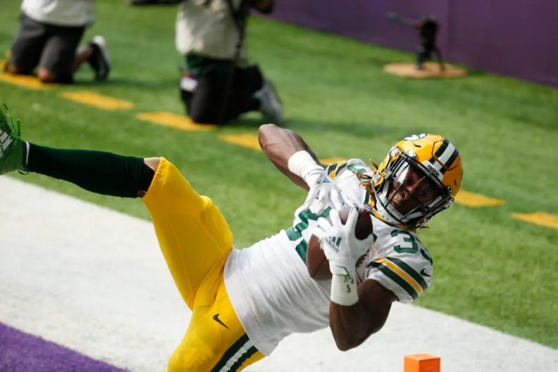 Aaron Jones: A look at Green Bay Packers running back's 2020 season