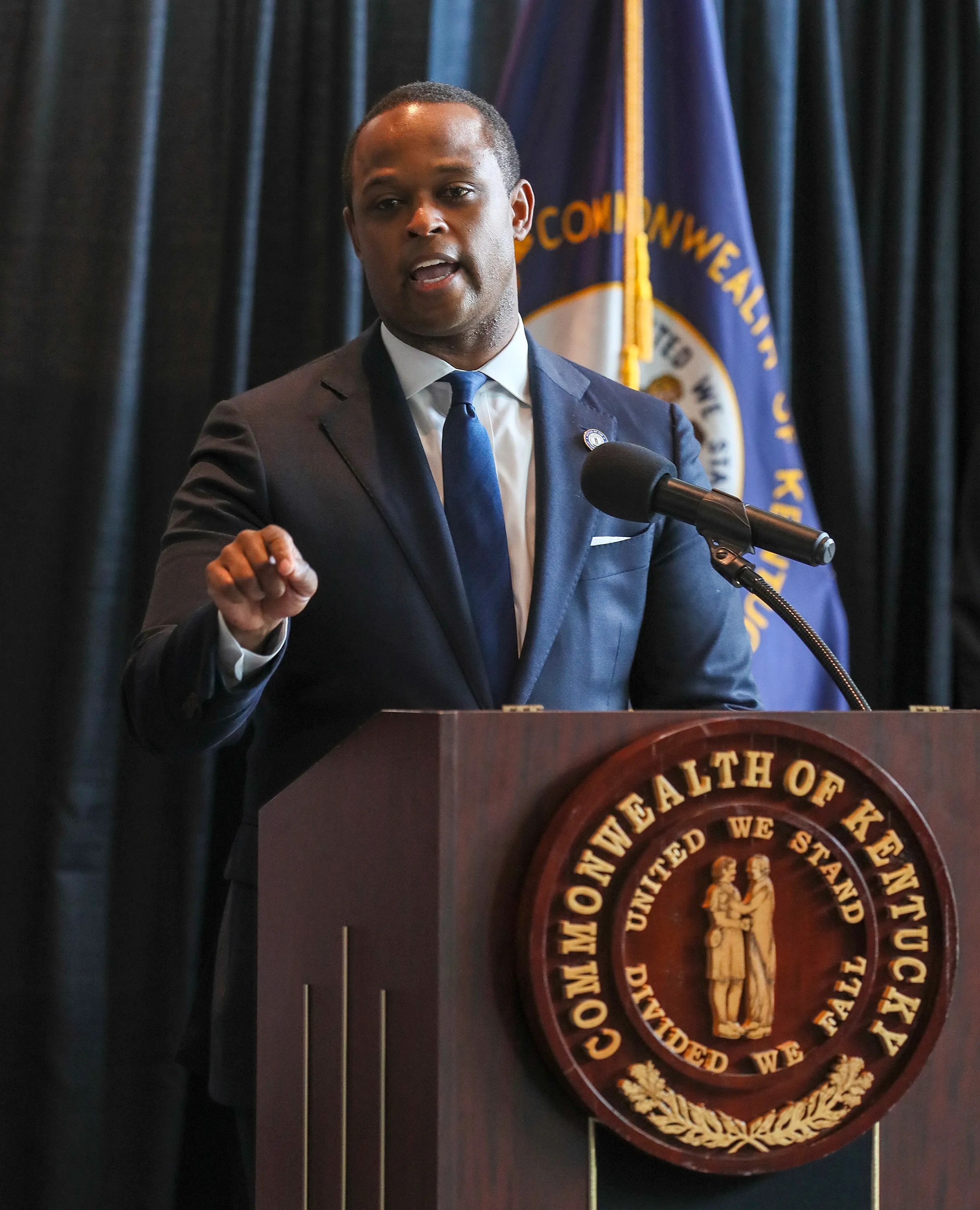 Kentucky Attorney General Daniel Cameron says police were justified in their use of force in the Breonna Taylor shooting.