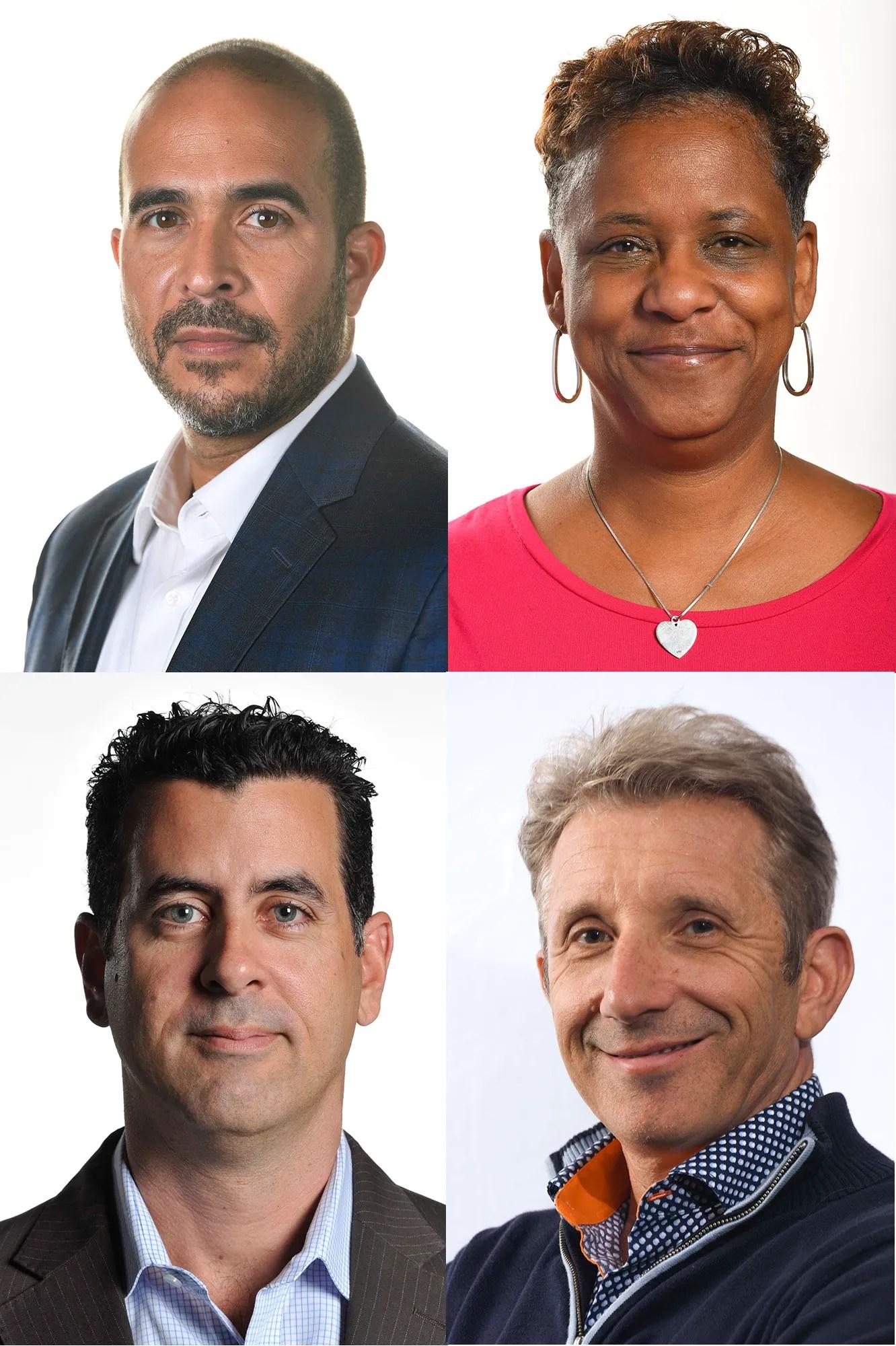 USA TODAY journalists Alan Gomez, Deborah Berry, Rick Jervis and Marco Della Cava.