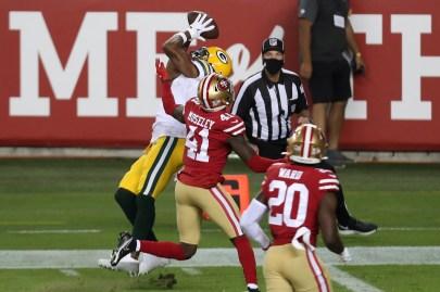 Green Bay Packers vs. San Francisco 49ers: Week 9 game photos